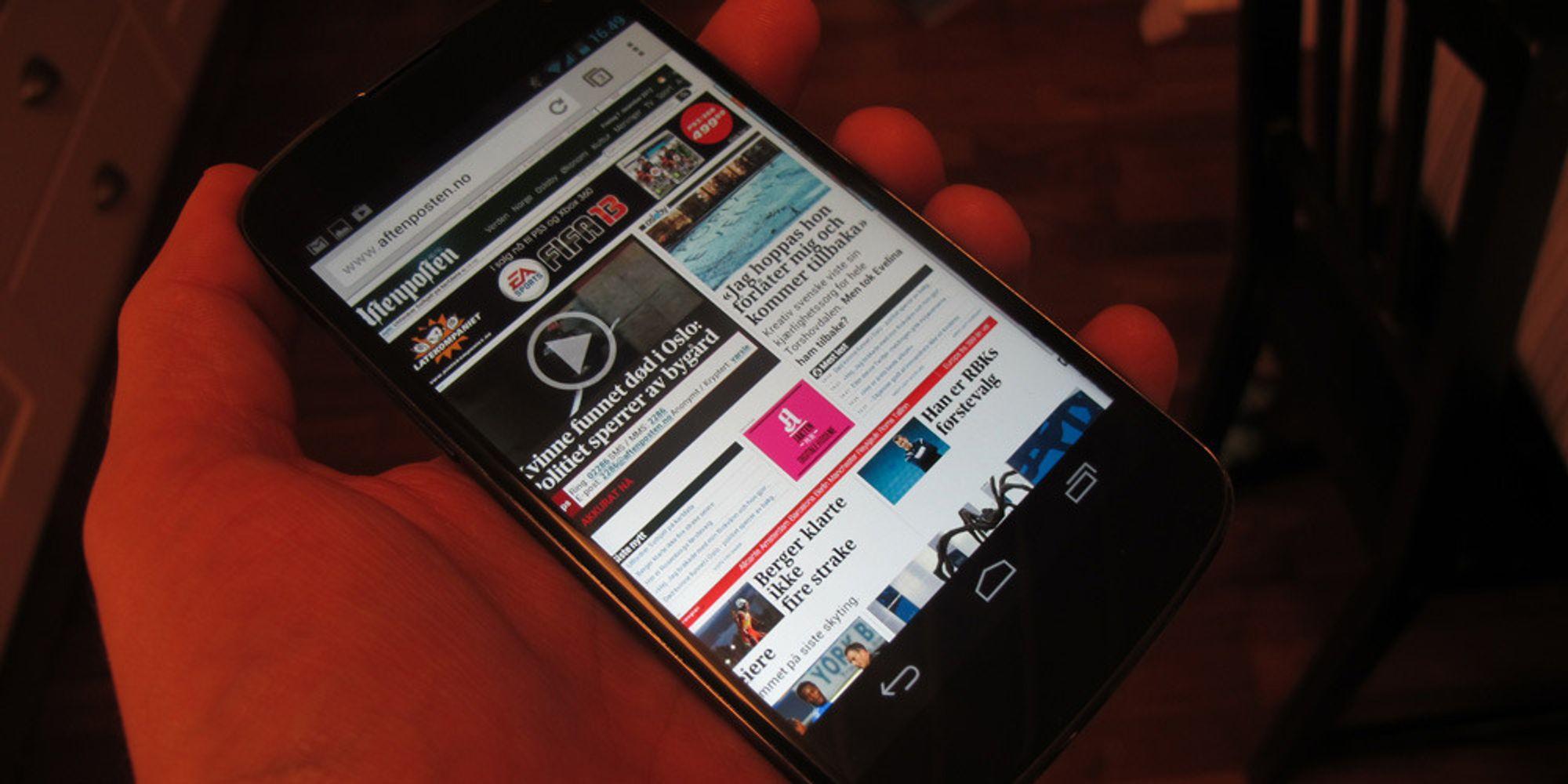 LG jobber med Nexus 5