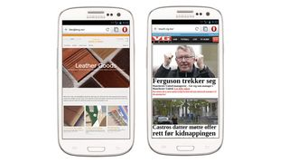Opera for Android ute av beta