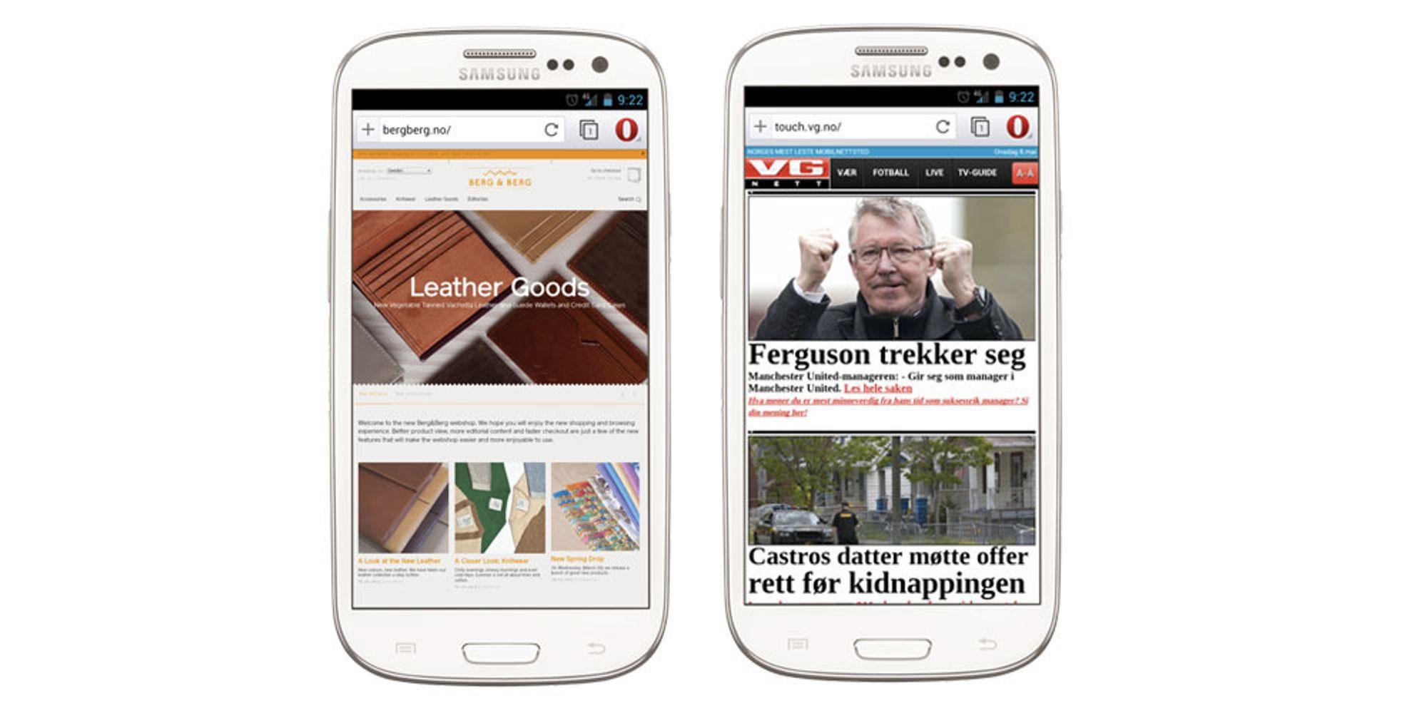 TEST: Opera for Android ute av beta