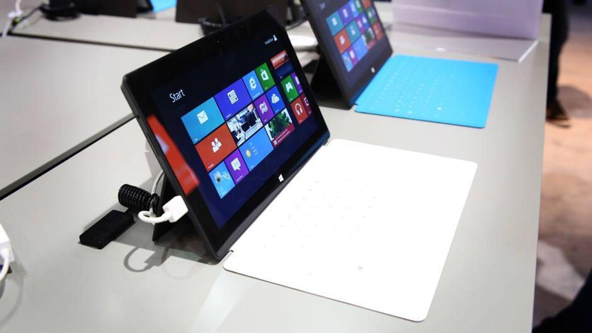 Nå blir Surface Pro tilgjengelig i Norge