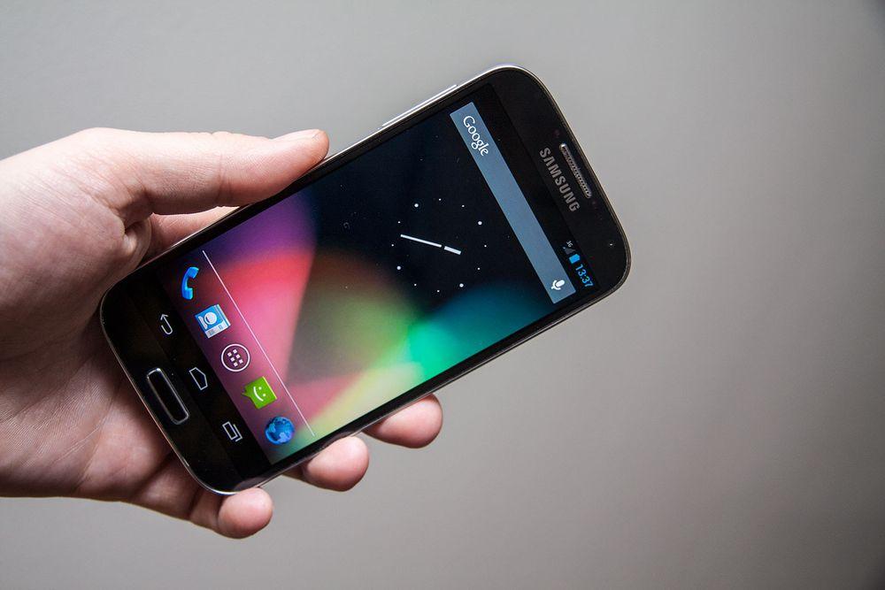 Google lanserer Galaxy S4 uten juggel