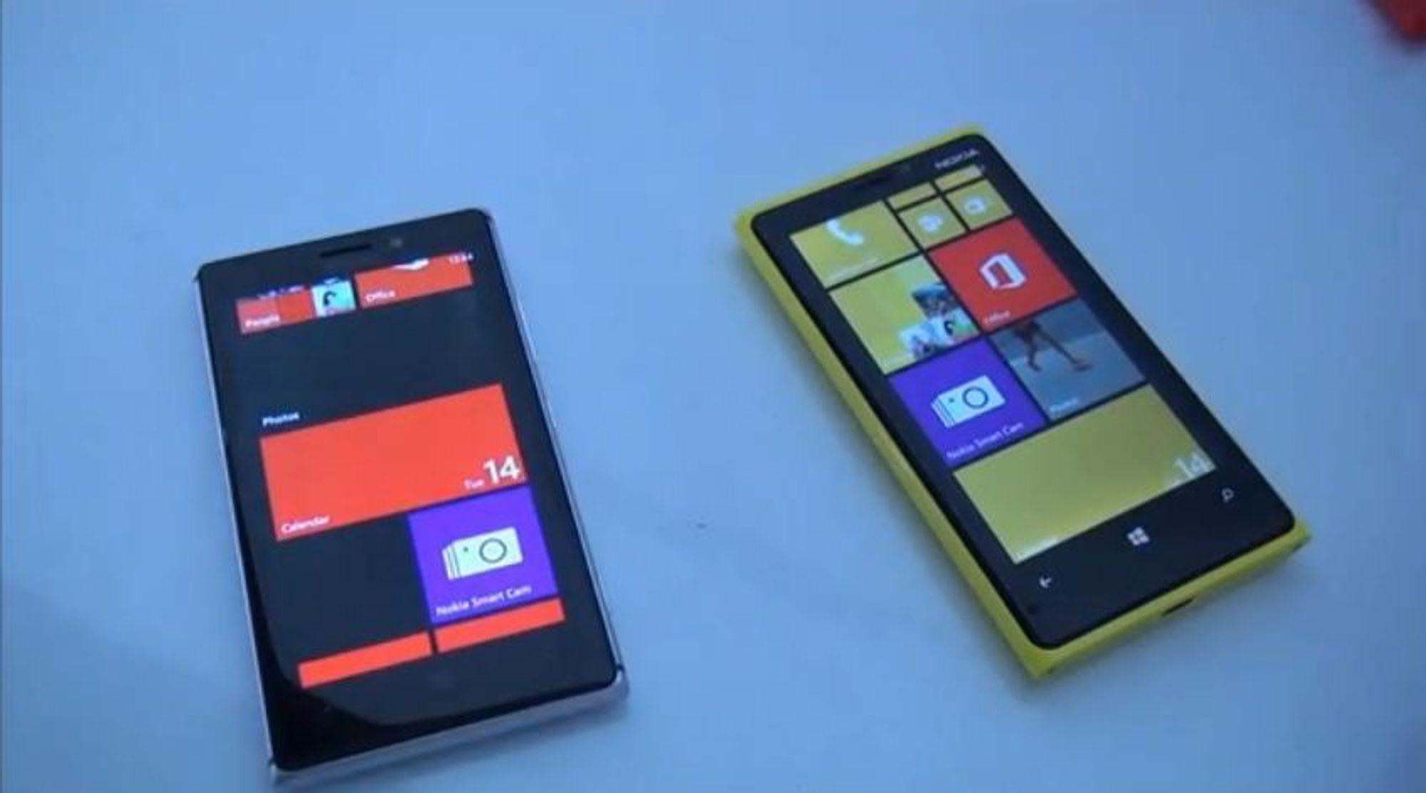 Smart Camera demonstrert på Lumia 920