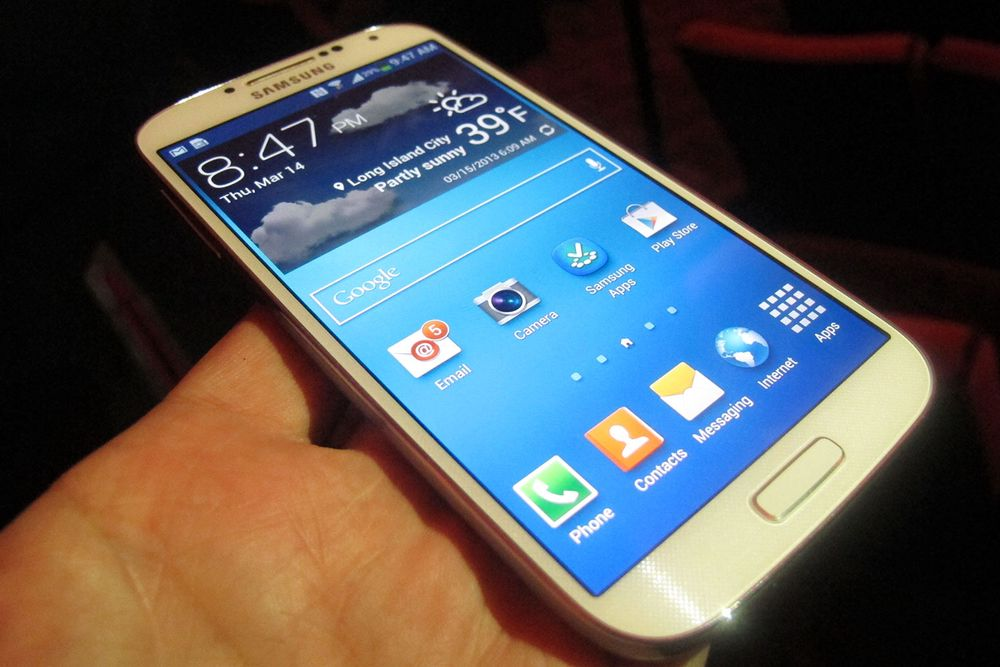 Galaxy S4 kan bli vanntett