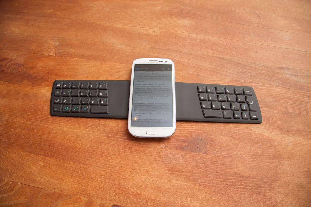 TEST: TEST: Dette tastaturet kan du ha i lomma