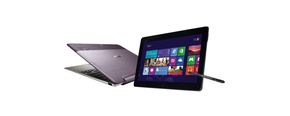 Asus lanserer Windows 8-brett