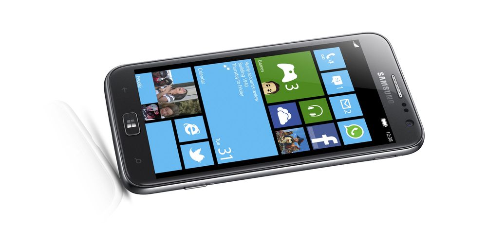 Her er Samsungs første med Windows Phone 8