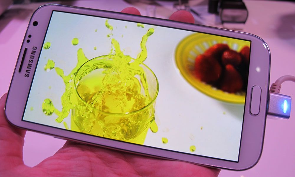 Lyntest: Samsung Galaxy Note II