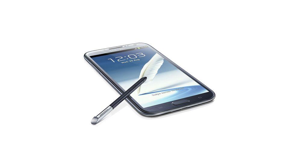 Samsung lanserer Galaxy Note 2