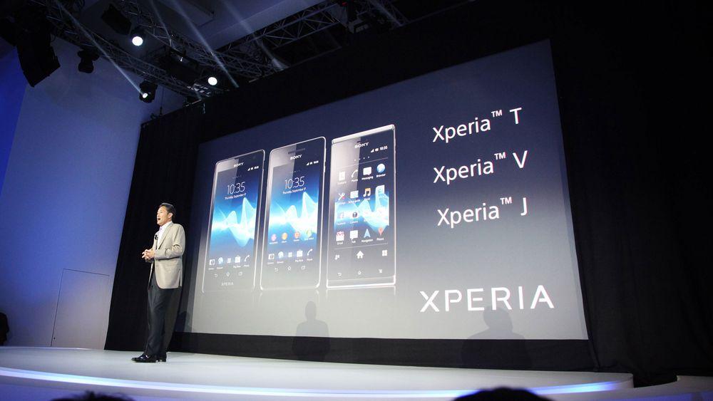 Sony lanserer tre nye mobiler og et nettbrett