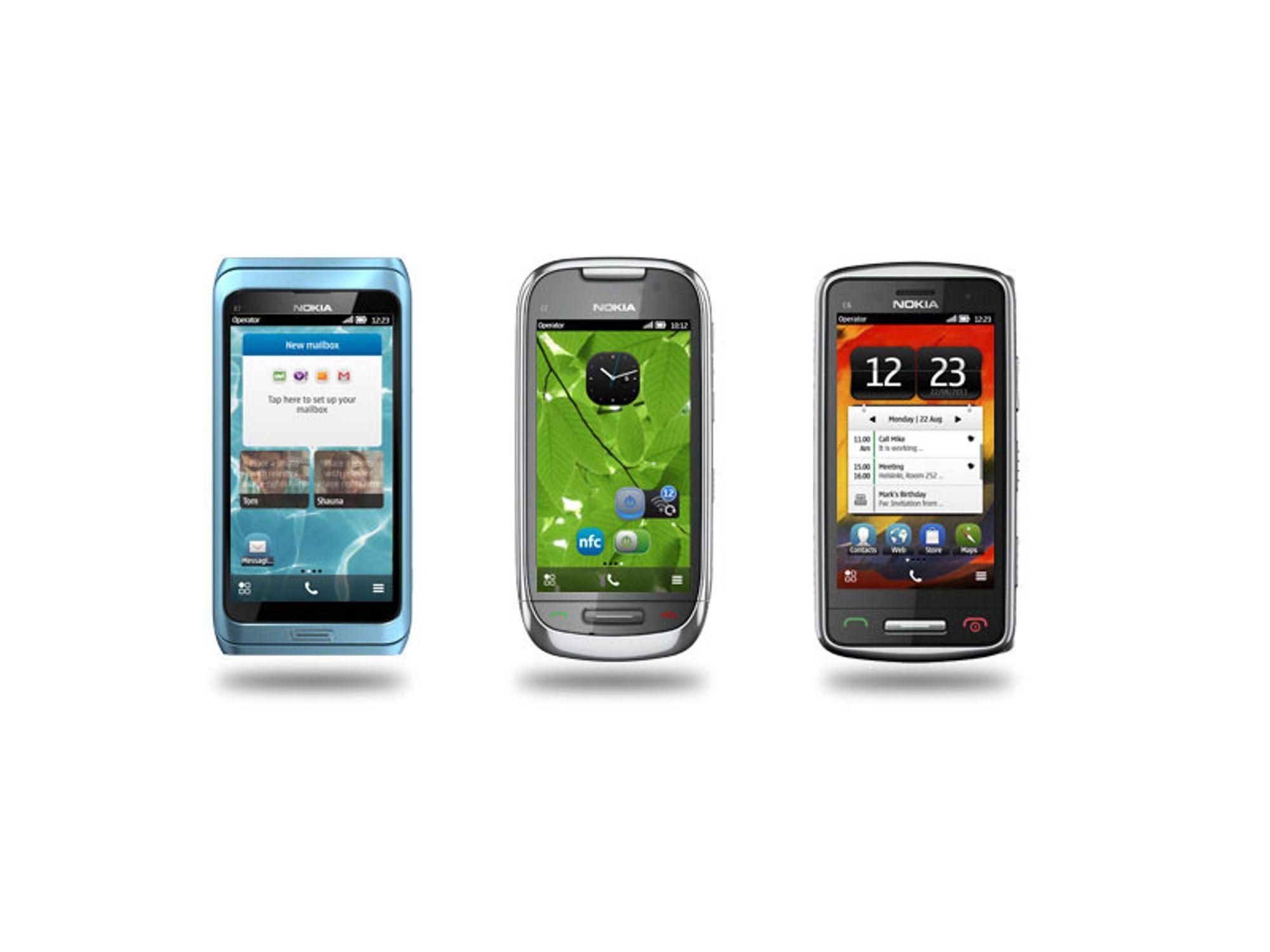 Nokia oppdaterer Symbian Belle