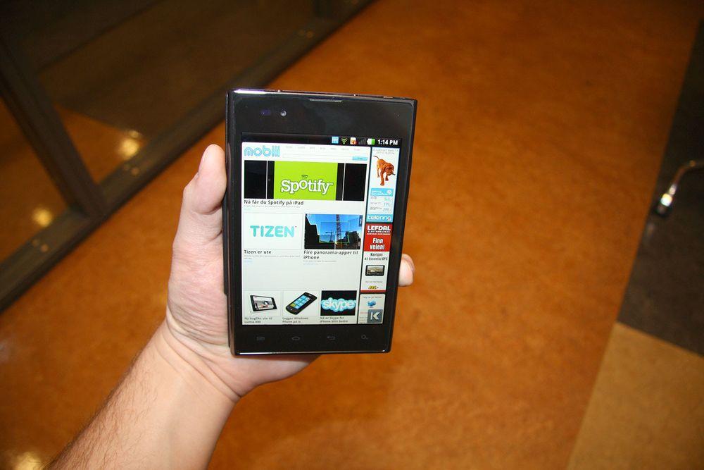 Galaxy Note-utfordreren lanserers i Norge
