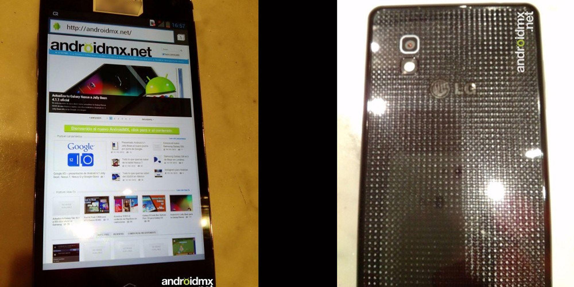 Flere bilder av LG Optimus G lekket