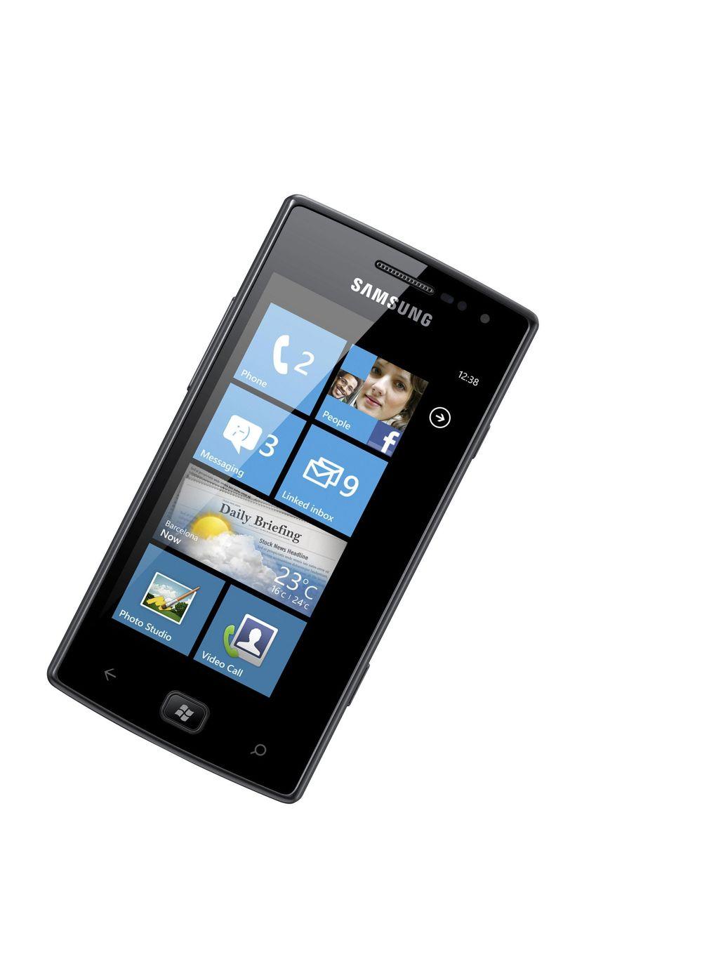 Slik blir Samsungs WP8-mobiler