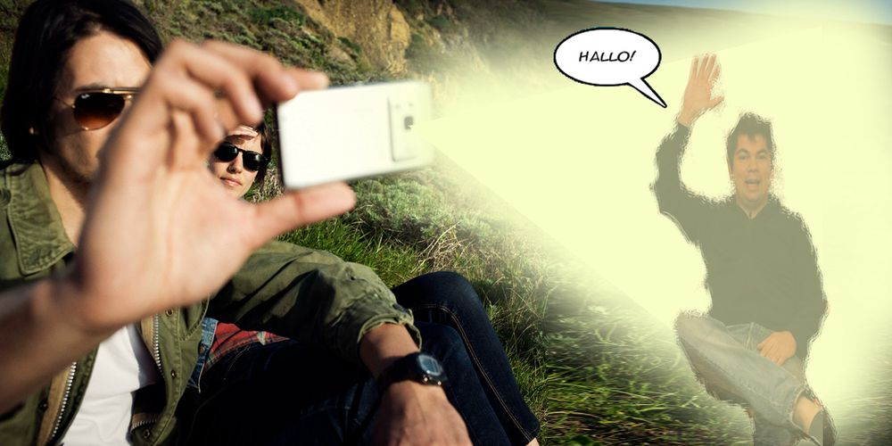 Nokia og Intel vil ha hologramtelefoni