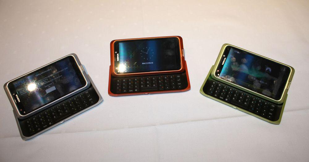 Lyntest av Nokia N8 og E7