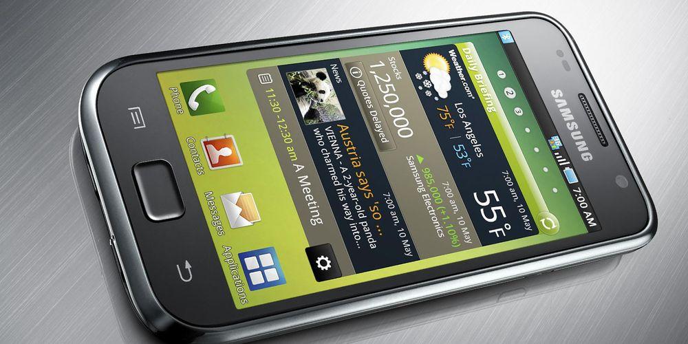Galaxy S og Tab får endelig Gingerbread