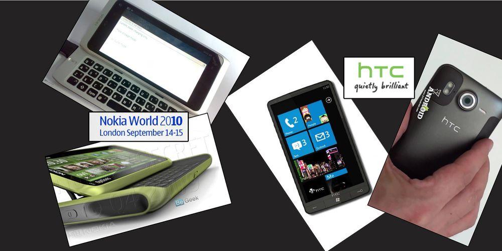 Ukens viktigste produsenter: HTC og Nokia