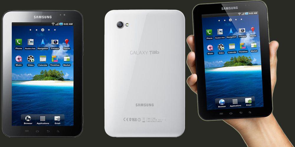 Galaxy Tab er lansert