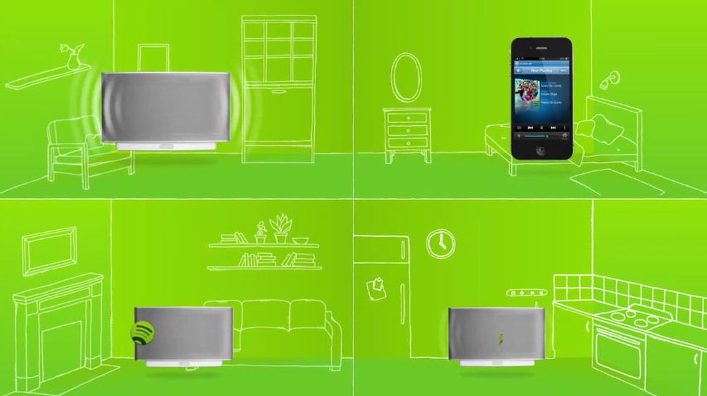 Få trådløs Spotify i huset