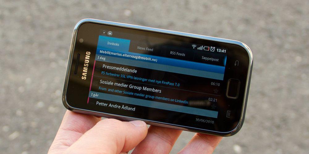Galaxy S får straks stor oppdatering