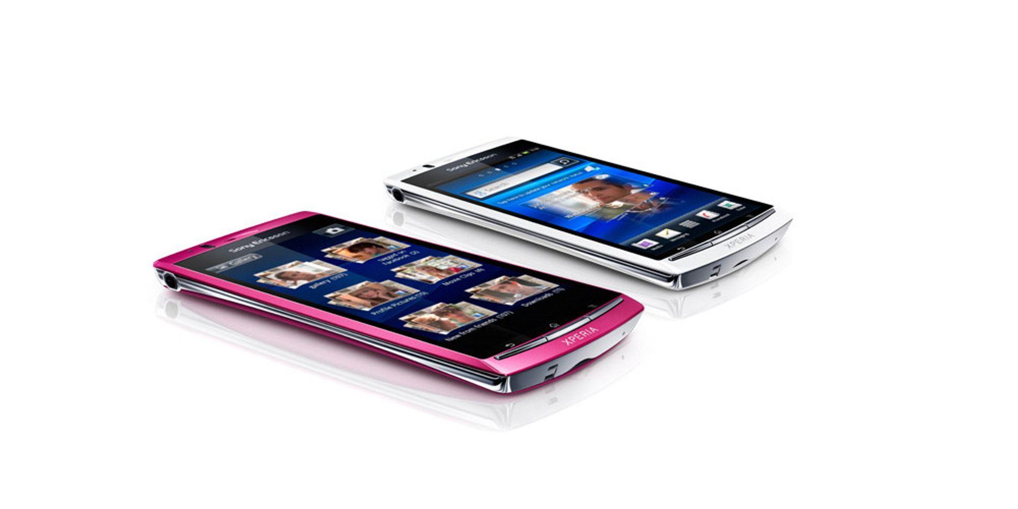 Sony Ericsson lanserer Xperia Arc S