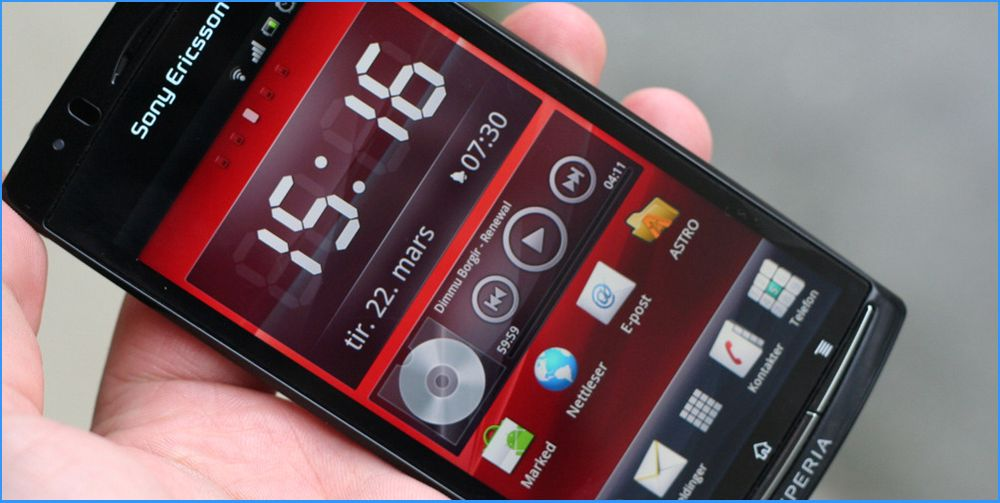 Sony Ericsson oppgraderer Xperia