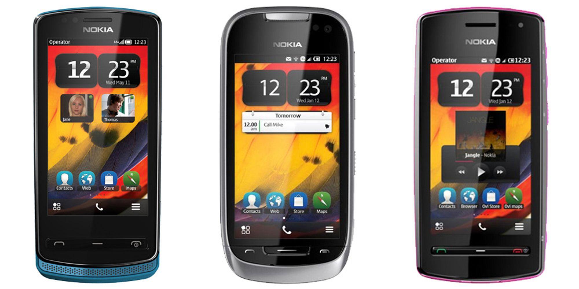 Trippellansering hos Nokia