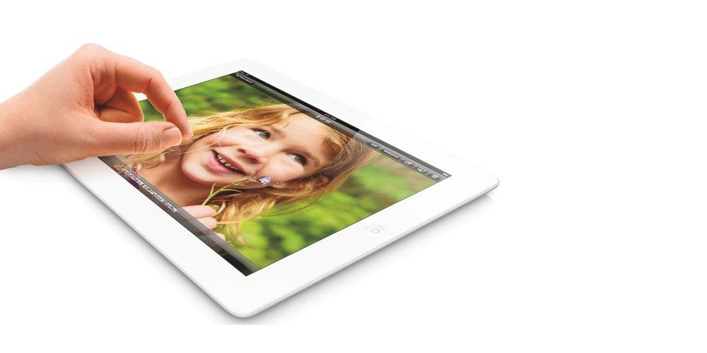 Lanserer iPad med 128 GB