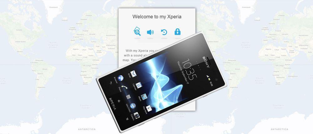 Nå kan du spore Sony-telefonen din