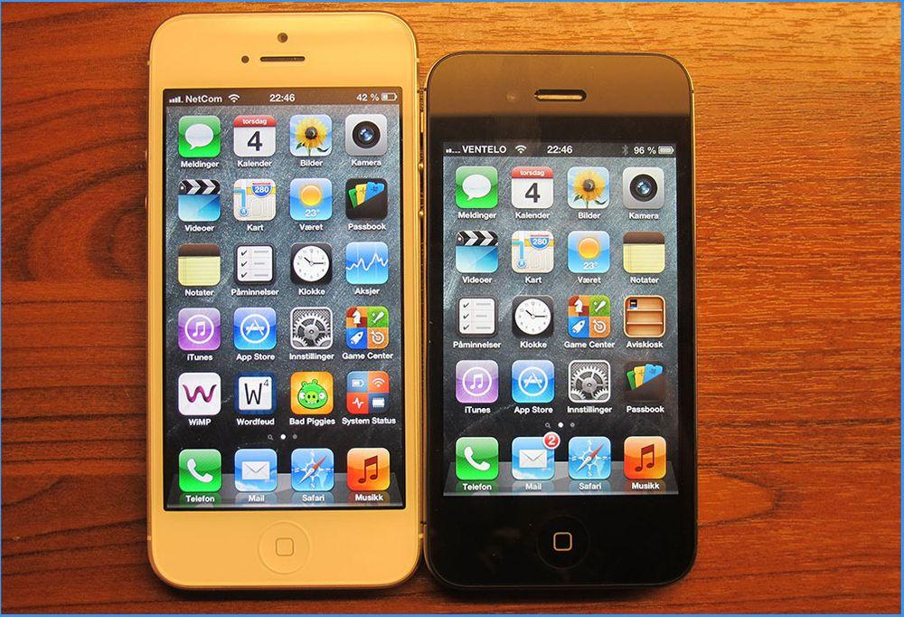 Spår iPhone 5S i sommer