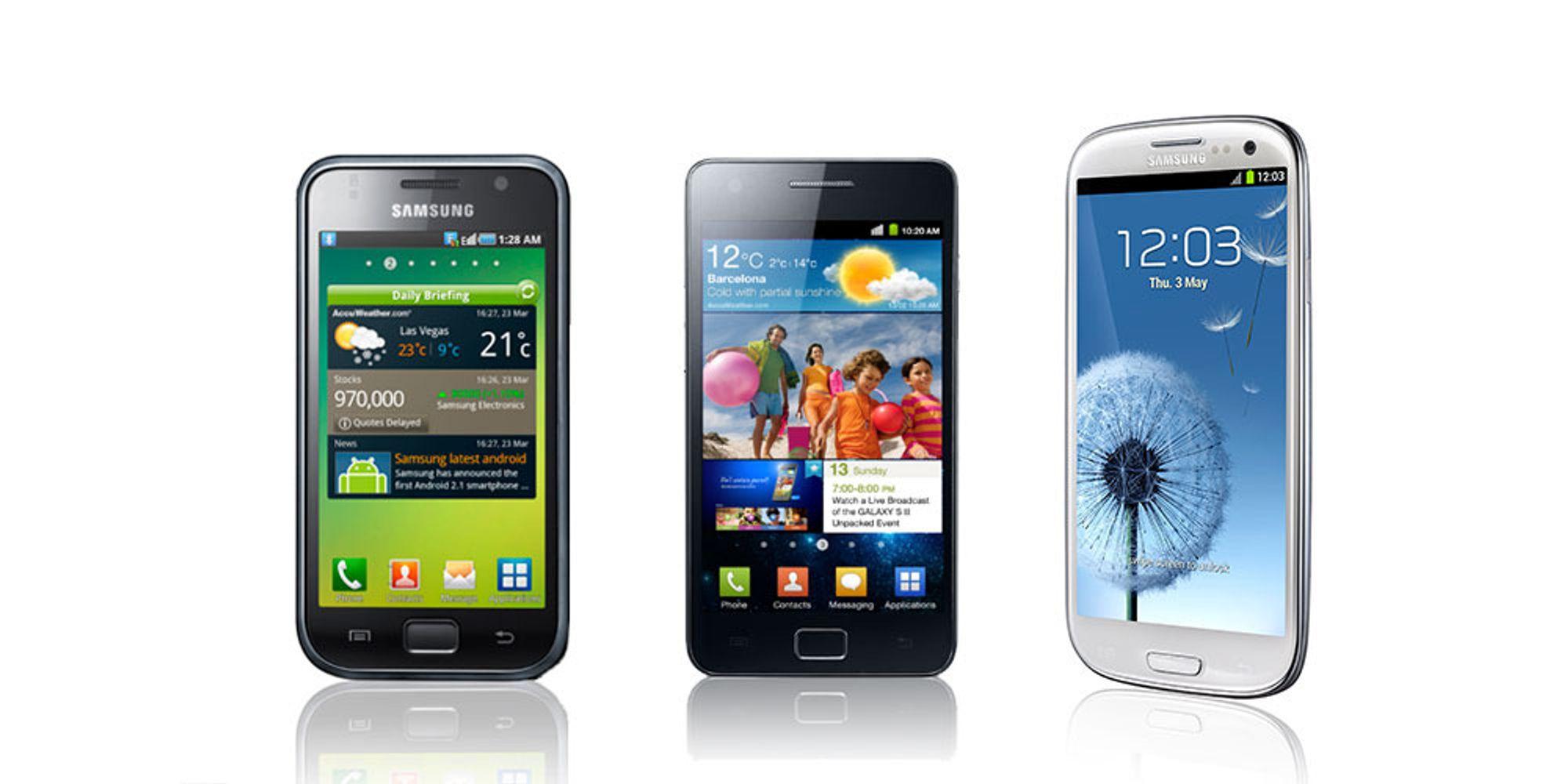 100 000 000 Galaxy S-modeller solgt
