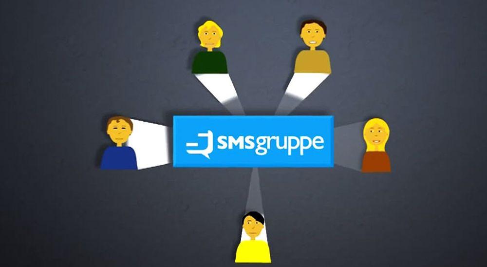 Denne tjenesten holder styr på gruppe-SMS