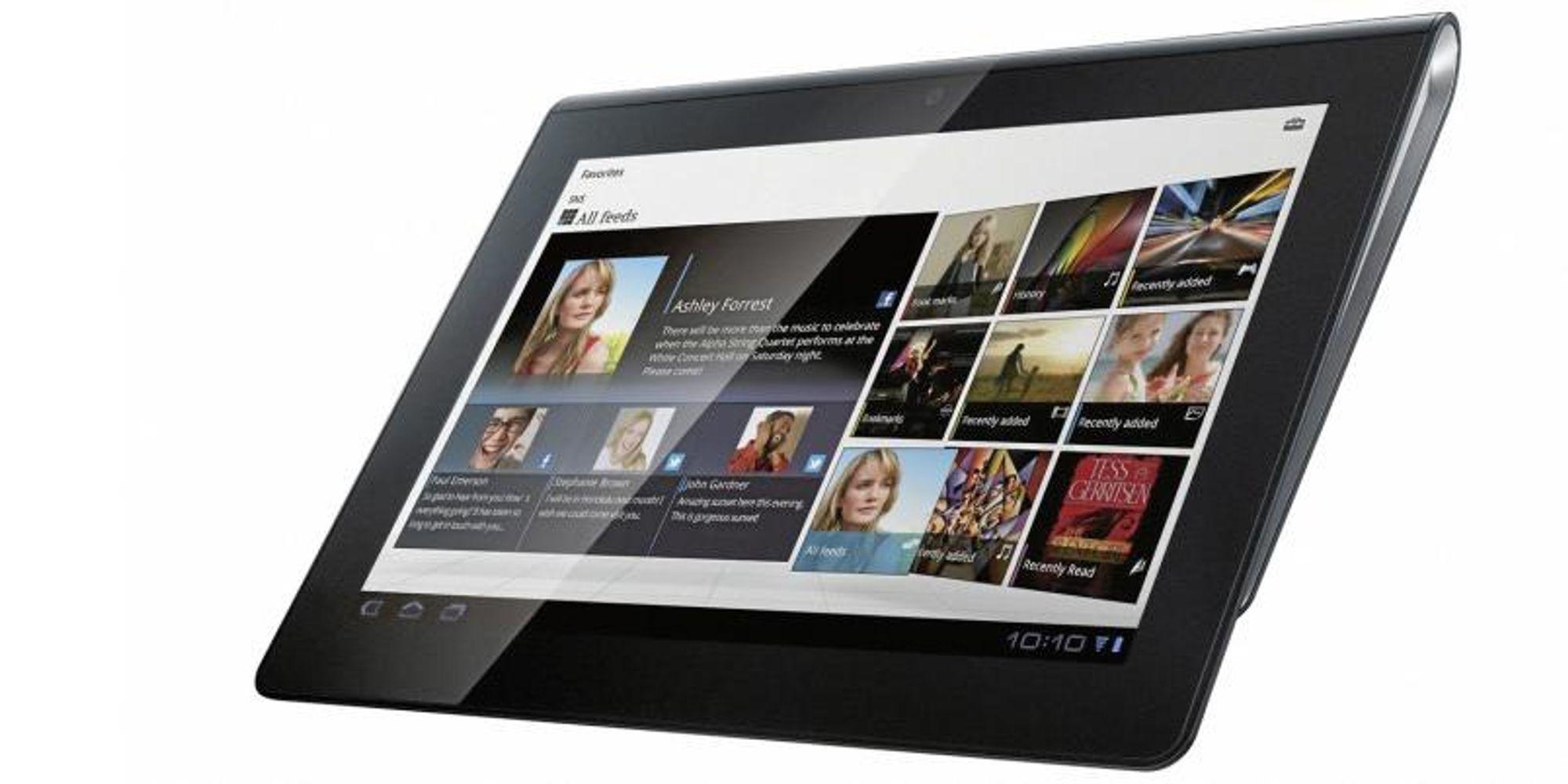 Test av Sony Tablet S