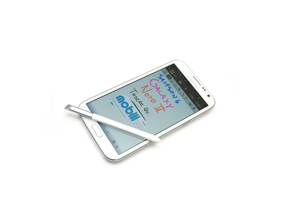 TEST: TEST: Samsung Galaxy Note II
