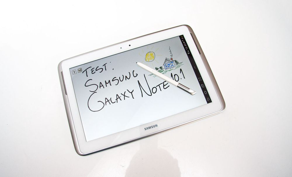 TEST: Test: Samsung Galaxy Note 10.1