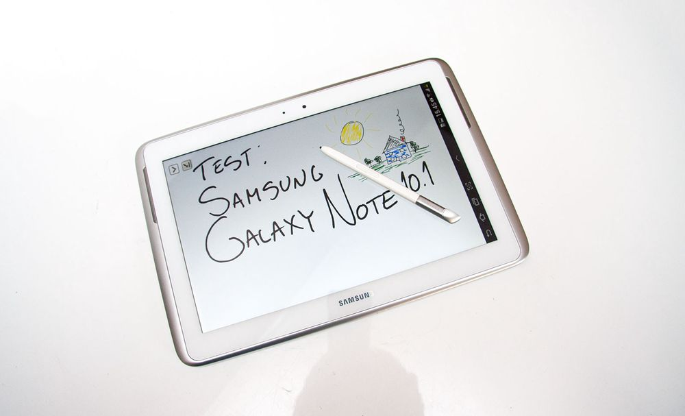 Test: Samsung Galaxy Note 10.1