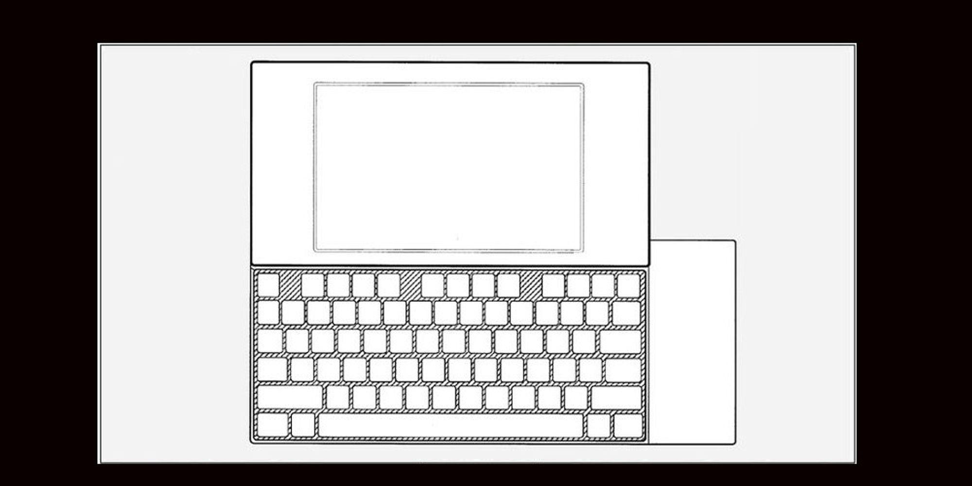 Google patenterer mobiltastatur