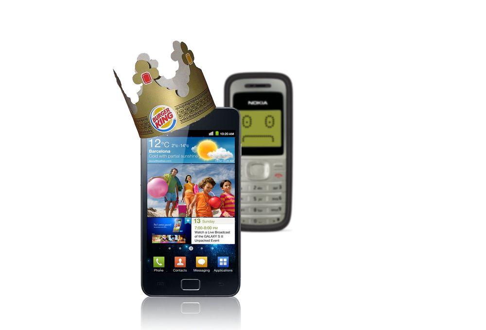 Samsung sparker Nokia fra tronen