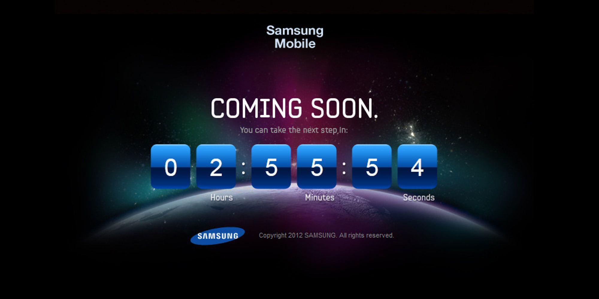 Samsung har lagt ut Galaxy-teaser