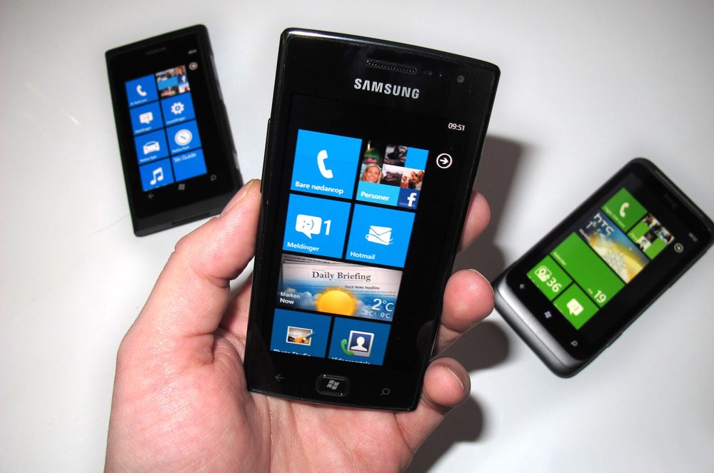 Slik kommer du i gang med Windows Phone 7