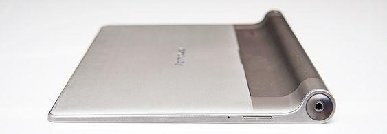 Yoga Tablet 10 er imponerende tynt på sitt tynneste punkt.