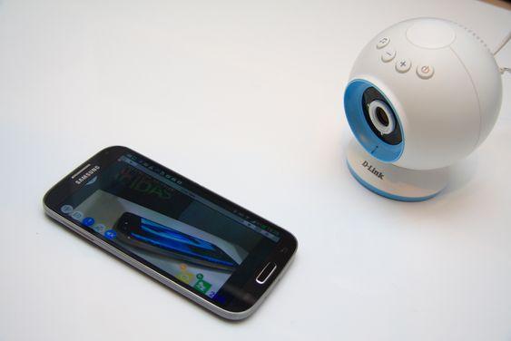 D-Link DCS-825L fungerer med Android og iOS.