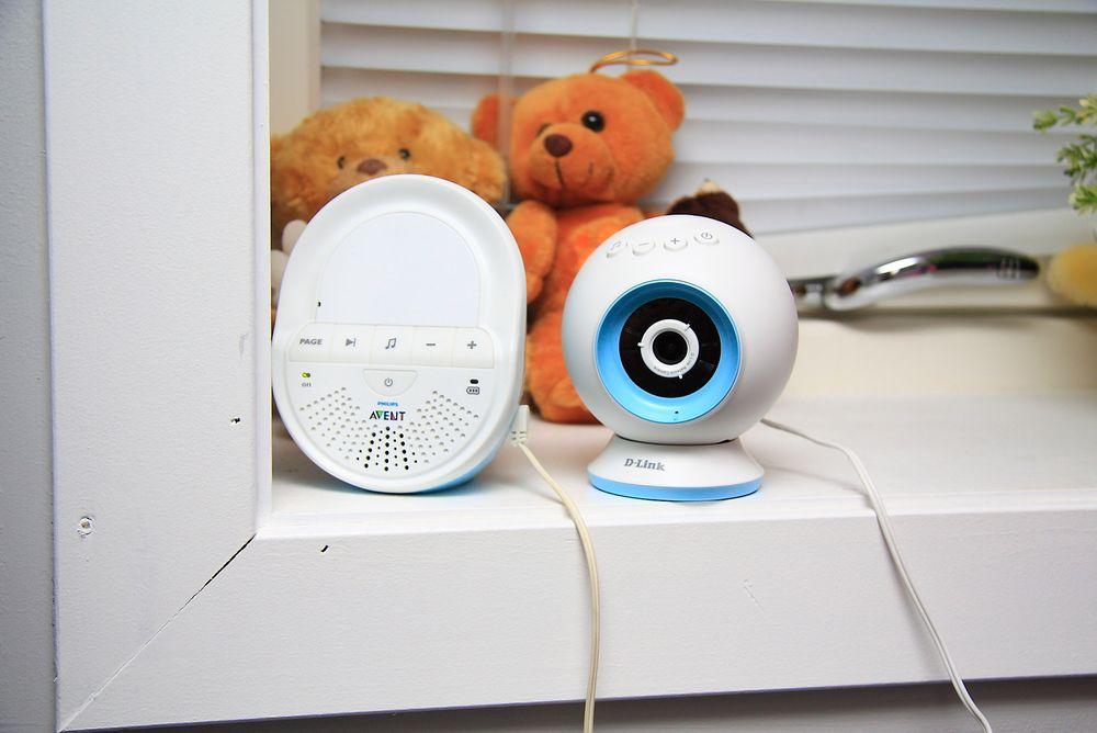 Vi vil på det sterkeste fraråde noen å erstatte en vanlig babycall som denne Philips Avent-modellen med D-Links kamera.