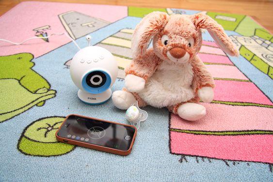 D-Links kamera er rettet mot småbarnsforeldre som ønsker å følge med på barnet.