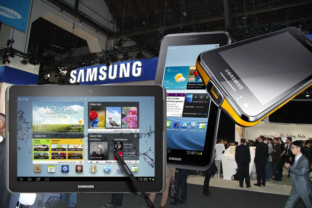 Samsung vil kjøpe selskaper
