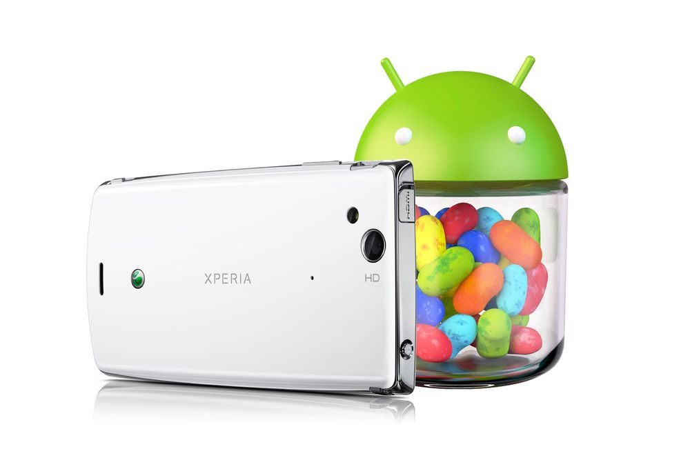 Ingen Jelly Bean til Xperia Arc S