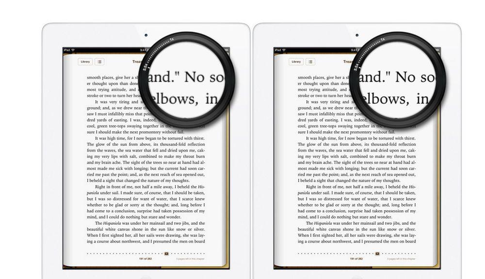 Klarer ikke se forskjellen på nye og gamle iPad