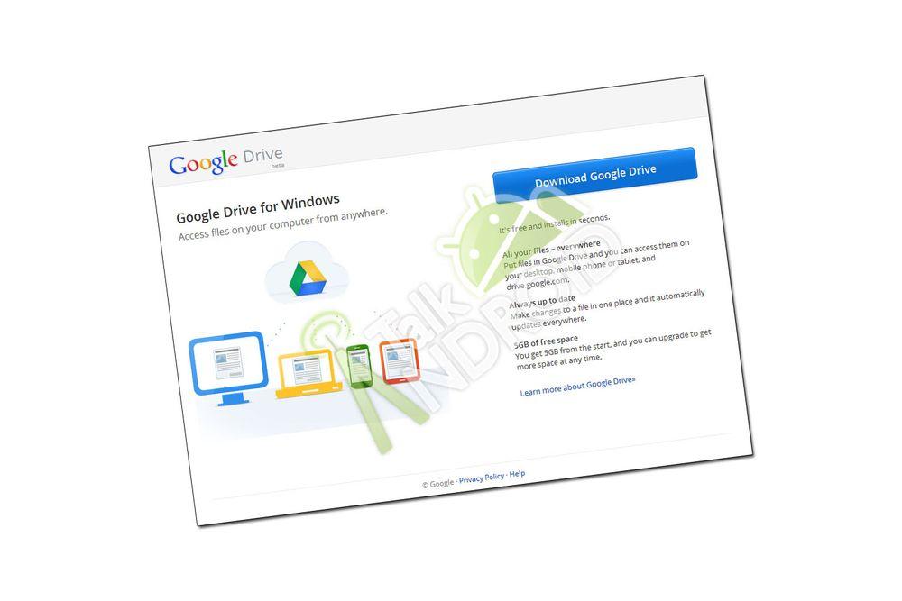 Er dette Googles Dropbox-utfordrer?