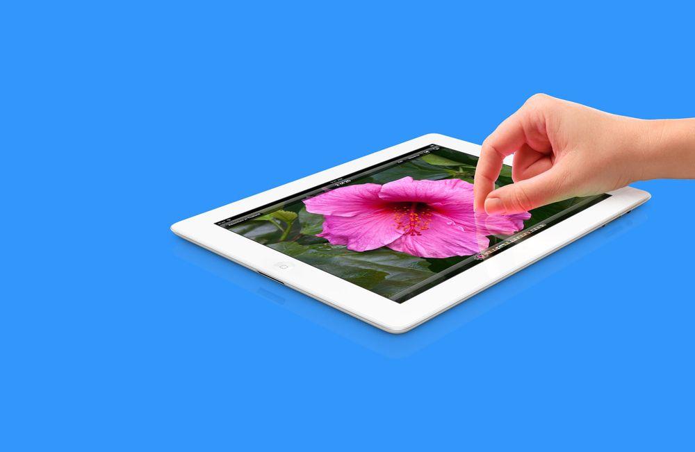 Her er de første testene av nye iPad