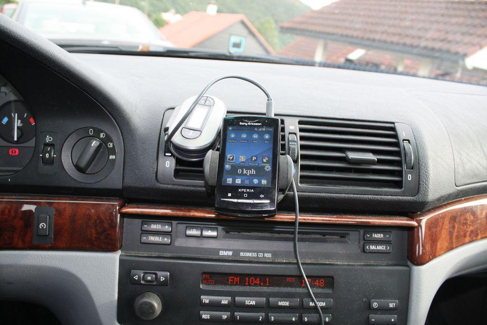 Sett opp en skjerm til bilen